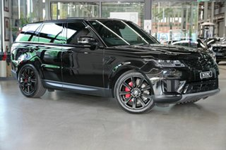 2020 Land Rover Range Rover Sport L494 20MY SE Black 8 Speed Sports Automatic Wagon.