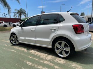2014 Volkswagen Polo 6R MY14 77TSI DSG Comfortline White 7 Speed Sports Automatic Dual Clutch