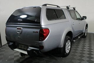 2011 Mitsubishi Triton MN MY11 GLX-R Double Cab Silver 5 Speed Sports Automatic Utility.