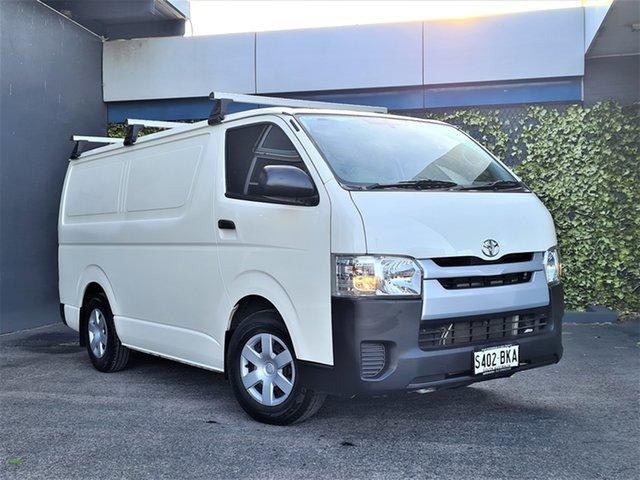Used Toyota HiAce KDH201R LWB St Marys, 2015 Toyota HiAce KDH201R LWB White 5 Speed Manual Van