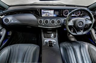2016 Mercedes-Benz S-Class C217 806+056MY S63 AMG SPEEDSHIFT MCT Black 7 Speed Sports Automatic