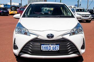 2018 Toyota Yaris NCP130R Ascent White 4 Speed Automatic Hatchback
