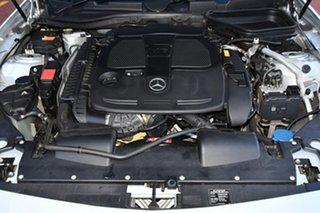 2012 Mercedes-Benz SLK-Class R172 SLK350 BlueEFFICIENCY 7G-Tronic + Silver 7 Speed Sports Automatic