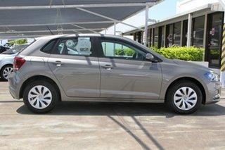 2020 Volkswagen Polo AW MY21 70TSI DSG Trendline Grey 7 Speed Sports Automatic Dual Clutch Hatchback.