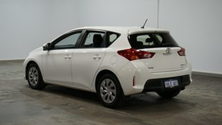 2013 Toyota Corolla ZRE182R Ascent S-CVT Glacier White 7 Speed Constant Variable Hatchback.