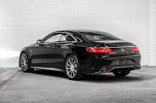 2016 Mercedes-Benz S-Class C217 806+056MY S63 AMG SPEEDSHIFT MCT Black 7 Speed Sports Automatic.