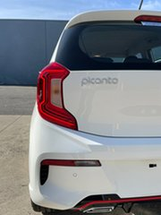 2021 Kia Picanto JA MY22 GT-Line Clear White 4 Speed Automatic Hatchback