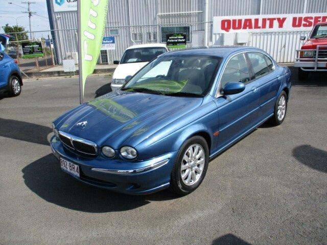 Used Jaguar X-Type Woodridge, 2001 Jaguar X-Type Blue 4 Speed Automatic Sedan