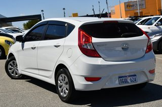 2017 Hyundai Accent RB4 MY17 Active White 6 Speed Manual Hatchback.