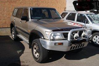 1999 Nissan Patrol GU ST (4x4) Gold 4 Speed Automatic 4x4 Wagon.
