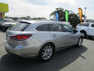 2013 Mazda 6 GJ1031 Touring SKYACTIV-Drive Grey 6 Speed Sports Automatic Wagon