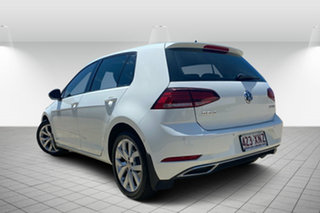 2017 Volkswagen Golf 7.5 MY17 110TDI DSG Highline Pure White 7 Speed Sports Automatic Dual Clutch.