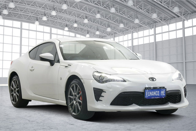 Used Toyota 86 ZN6 GT Victoria Park, 2017 Toyota 86 ZN6 GT White 6 Speed Manual Coupe