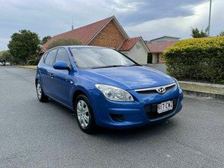 2007 Hyundai i30 FD SX Blue 4 Speed Automatic Hatchback.