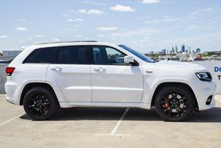 2017 Jeep Grand Cherokee WK MY18 SRT White 8 Speed Sports Automatic Wagon.
