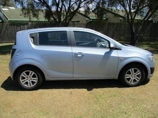 2012 Holden Barina TM MY13 CD Blue 6 Speed Automatic Hatchback.