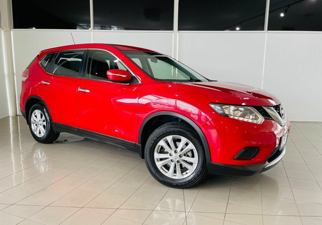 Used Nissan X-Trail T32 ST X-tronic 4WD Deer Park, 2016 Nissan X-Trail T32 ST X-tronic 4WD Red 7 Speed Constant Variable Wagon
