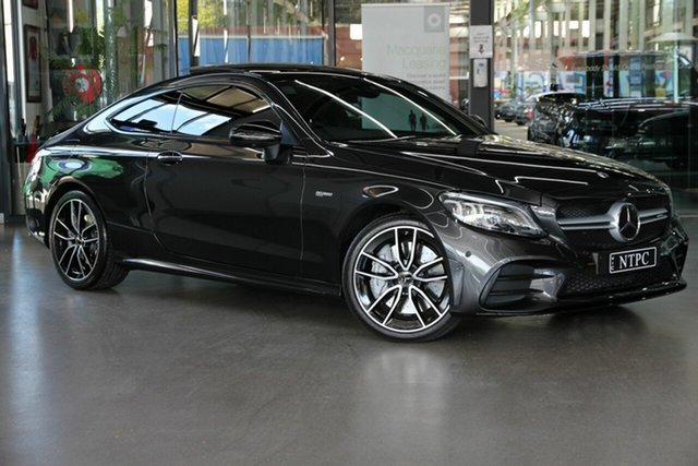 Used Mercedes-Benz C-Class C205 809MY C43 AMG 9G-Tronic 4MATIC North Melbourne, 2019 Mercedes-Benz C-Class C205 809MY C43 AMG 9G-Tronic 4MATIC Grey 9 Speed Sports Automatic Coupe