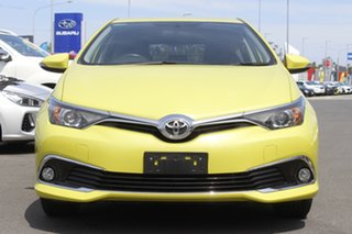 2018 Toyota Corolla ZRE182R Ascent Sport S-CVT Yellow 7 Speed Constant Variable Hatchback