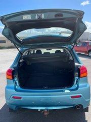 2010 Mitsubishi ASX XA (4WD) Blue 6 Speed Manual Wagon