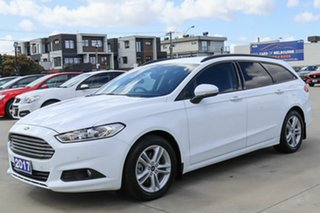 2017 Ford Mondeo MD 2017.50MY Ambiente White 6 Speed Sports Automatic Dual Clutch Wagon