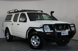 2007 Nissan Navara D40 ST-X White 6 Speed Manual Utility.