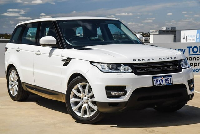 Used Land Rover Range Rover Sport L494 17MY SE Osborne Park, 2017 Land Rover Range Rover Sport L494 17MY SE White 8 Speed Sports Automatic Wagon