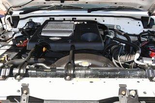 2007 Nissan Patrol GU IV MY06 ST White 4 Speed Automatic Wagon