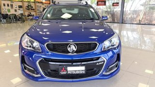 2015 Holden Commodore VF MY15 SS Sportwagon Blue 6 Speed Sports Automatic Wagon.