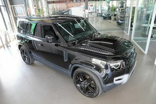 2020 Land Rover Defender L663 21MY 90 P400 AWD HSE Black 8 Speed Sports Automatic Wagon