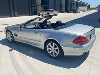 2004 Mercedes-Benz SL-Class R230 MY04 SL500 Silver 7 Speed Sports Automatic Roadster