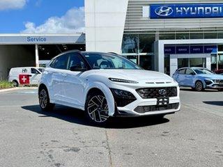 2021 Hyundai Kona Os.v4 MY21 N-Line D-CT AWD Premium Sw1 7 Speed Sports Automatic Dual Clutch Wagon.