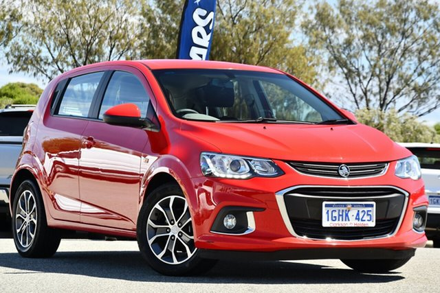 Used Holden Barina TM MY17 LS Clarkson, 2017 Holden Barina TM MY17 LS Red 6 Speed Automatic Hatchback