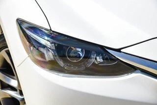 2016 Mazda 6 GL1031 GT SKYACTIV-Drive Snowflake White Pearl 6 Speed Sports Automatic Wagon
