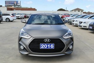 2016 Hyundai Veloster FS4 Series II SR Coupe D-CT Turbo Grey 7 Speed Sports Automatic Dual Clutch