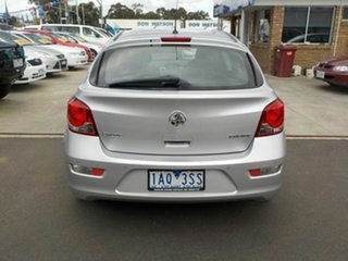 2013 Holden Cruze JH MY13 CD Equipe Silver 6 Speed Automatic Hatchback