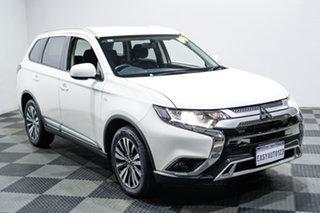 2018 Mitsubishi Outlander ZL MY19 ES AWD White 6 Speed Constant Variable Wagon