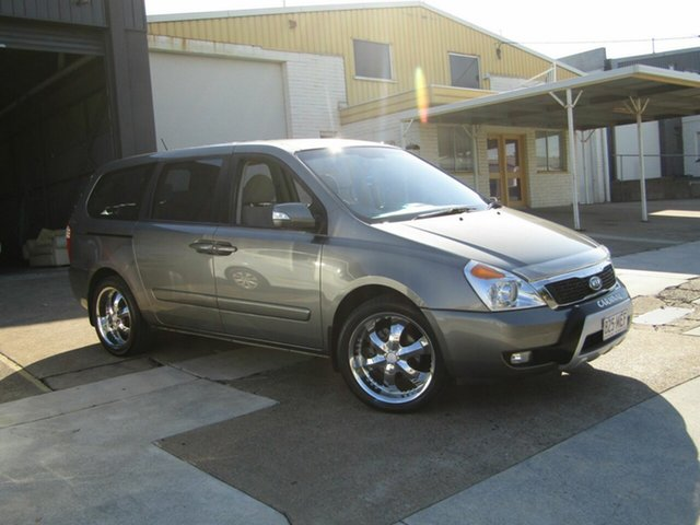 Used Kia Grand Carnival VQ MY12 S Moorooka, 2011 Kia Grand Carnival VQ MY12 S Grey 6 Speed Sports Automatic Wagon