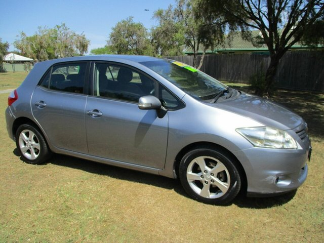 Used Toyota Corolla ZRE152R Conquest Kippa-Ring, 2009 Toyota Corolla ZRE152R Conquest Silver 6 Speed Manual Hatchback