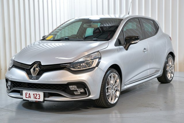 Used Renault Clio IV B98 Phase 2 R.S. 200 EDC Sport Hendra, 2018 Renault Clio IV B98 Phase 2 R.S. 200 EDC Sport Silver 6 Speed Sports Automatic Dual Clutch