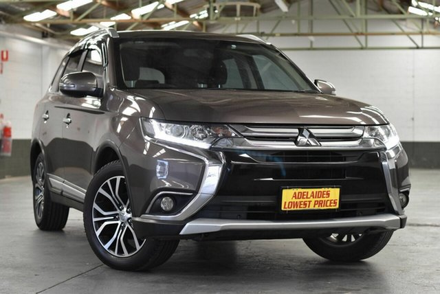 Used Mitsubishi Outlander ZK MY16 XLS 2WD Morphett Vale, 2016 Mitsubishi Outlander ZK MY16 XLS 2WD Bronze 6 Speed Constant Variable Wagon