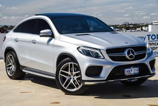 2016 Mercedes-Benz GLE-Class C292 807MY GLE350 d Coupe 9G-Tronic 4MATIC Silver, Chrome 9 Speed.