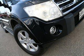 2011 Mitsubishi Pajero NT MY11 Platinum Black 5 Speed Sports Automatic Wagon.