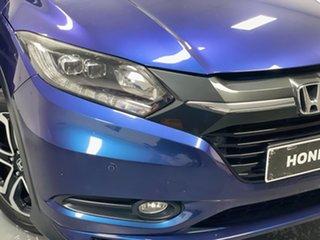2015 Honda HR-V MY15 VTi-L Morpho Blue 1 Speed Constant Variable Hatchback.