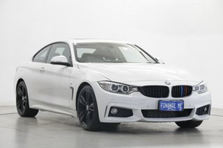 2015 BMW 4 Series F32 420i M Sport White 8 Speed Sports Automatic Coupe