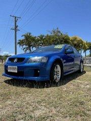 2010 Holden Commodore Blue 6 Speed Manual Sedan.