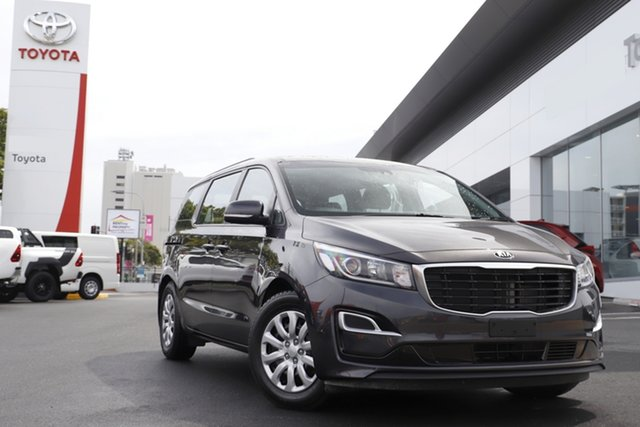 Pre-Owned Kia Carnival YP MY19 S Woolloongabba, 2019 Kia Carnival YP MY19 S Grey 8 Speed Sports Automatic Wagon