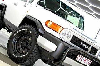 2014 Toyota FJ Cruiser GSJ15R MY14 Pearl White 5 Speed Automatic Wagon.