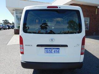 2019 Toyota HiAce TRH201R LWB White 6 Speed Automatic Van.