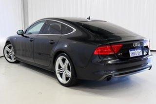 2012 Audi A7 4G Sportback S Tronic Quattro Black 7 Speed Sports Automatic Dual Clutch Hatchback.